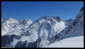 Bergpanorama Sellraintal