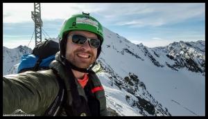 Flo am Gipfel der Schöntalspitze