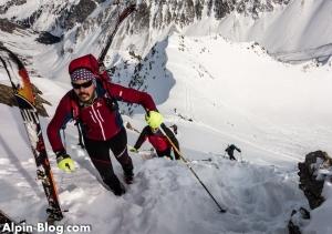 Gipfelaufstieg Seeblaskogel