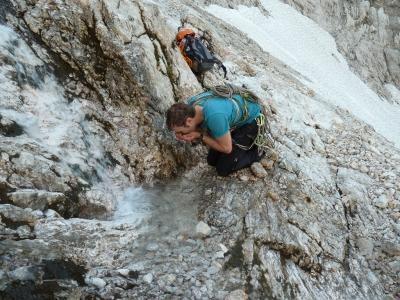 Frisches Bergwasser - lecker!