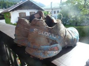 Der Schuh danach...