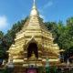 Angekommen in Chiang-Mai führte mich mein Weg an einem schönen Tempel vorbei