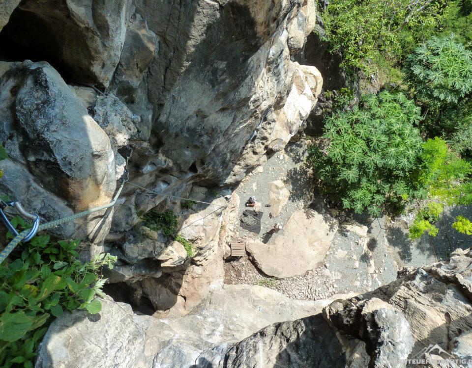 Schöner, zerklüfteter Fels am Crazy Horse Rock