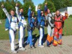 Skydiven über der Pfalz