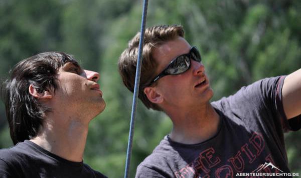 Kletterkurse unter professioneller Anleitung