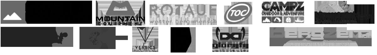 Logos bisherige Kooperationen