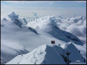 Ob mit oder ohne Seil, als Team erlebt man Berge am intensivsten.