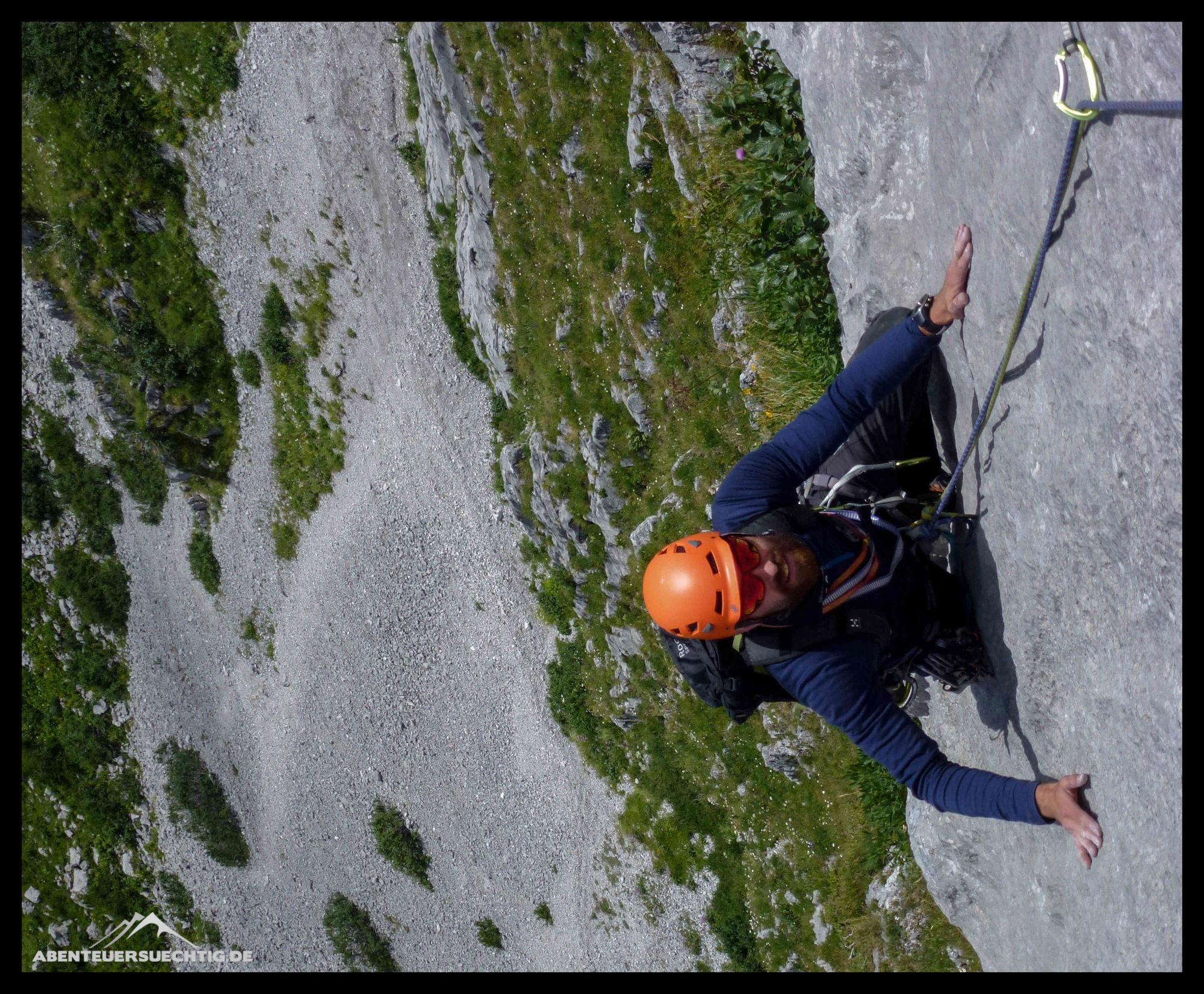Klettergurt Mit Seil Verbinden : Gedanken am anderen ende des seils abenteuersuechtig
