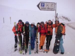 Gruppenfoto kurz vor der Heimreise.