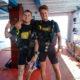 Fertig für die ersten Tauchgänge des Advanced Open Water Diver