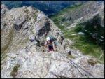 Mindelheimer Klettersteig für Flachlandtiroler