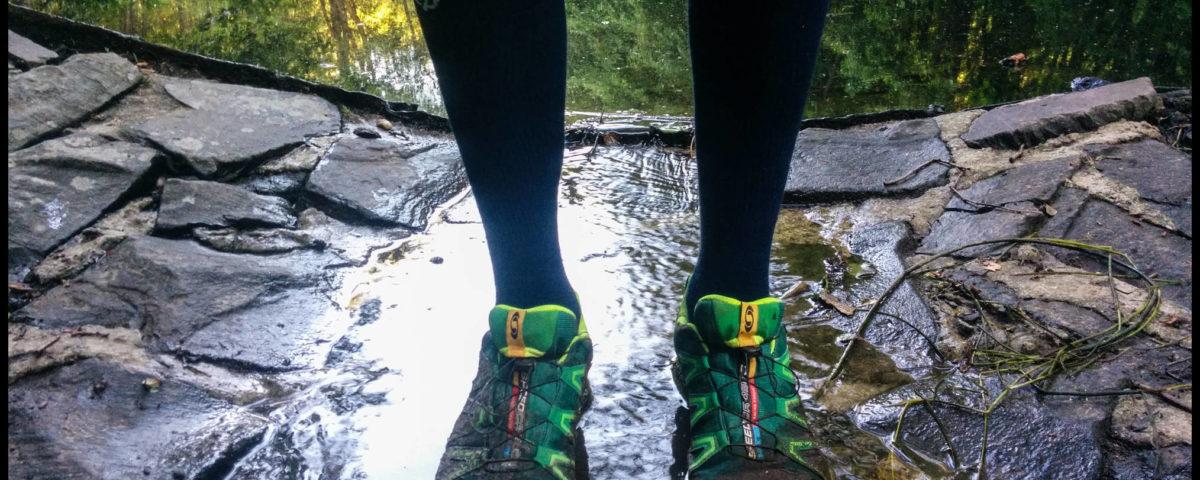 Zum Glück hatte ich wasserdichte Schuhe an :)
