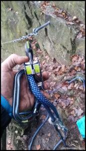 Klare Sache - Der Kletterunfall war Eigenverschulden. Ein Seilende ist durch's Abseilgerät geflutscht.