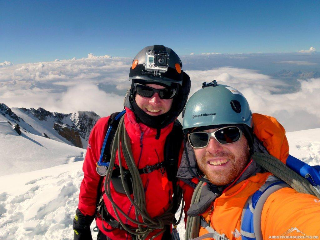 Erschöpfung-Alles-vergessen-Wir-stehen-auf-dem-Gipfel-des-Mont-Blanc-und-nur-das-zählt